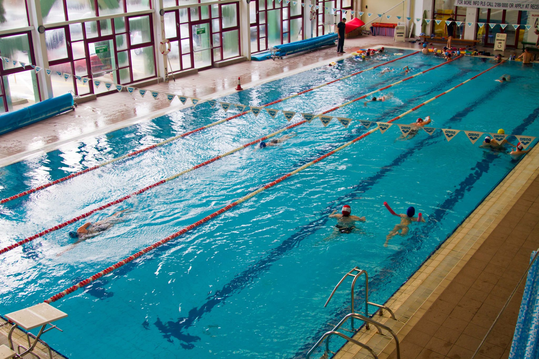 indoor gym pool. Click On The Pictures To Make Them Bigger. Indoor Gym Pool