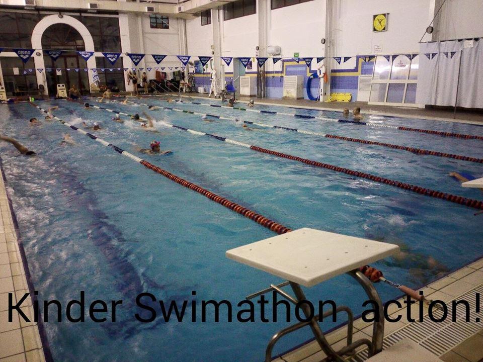 Kinder swimmathon 2015 inspire foundation for Pool design malta