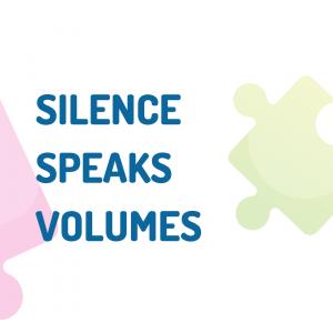 test: silence speaks volumes